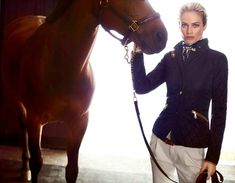 carolyn murphy for massimo dutti fall 2013.