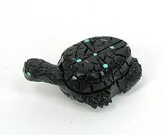 Hand made Native American Indian Turtle Fetish