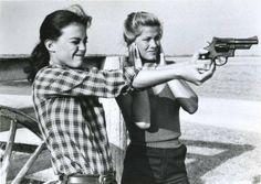 Girls and Guns...