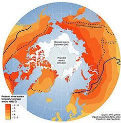 Mapa digital muestra las consecuencias del cambio climático en el mundo