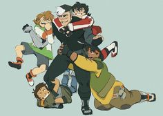 YESSSSS SO EXCITED IM DOING THE VOLTRON THING TODAY