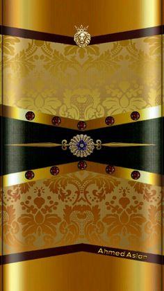 Black Wallpaper: Black and gold Phone Screen Wallpaper, Cellphone Wallpaper, Mobile Wallpaper, Wallpaper Backgrounds, Colorful Backgrounds, Iphone Wallpaper, Golden Wallpaper, Luxury Wallpaper, Black Wallpaper