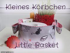 Beccy Sew: Kleines (Katzen-)Körbchen ~ Little (Cat-)Basket
