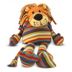Melissa & Doug Beeposh Elvis Lion Stuffed Animal