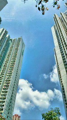 天空的一片藍,因為有你陪伴…… 簡單的一個下午,變得充滿力量!