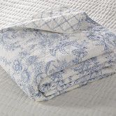 $199 for the king doesn't include shams!  Karen Blue Reversible Quilt Collection #birchlane