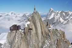 I knew it! The Grinch is real. Here's where he lives! (Aiguille du Midi Chamonix, France)