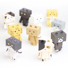 Nyanboard figure collection 10 Pack BOX $80.00 https://jlist.com/category/toys/wacky-other/pre6292?___store=jlist&acc=131 #kawaii #cat nyanboard #Japanese product