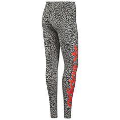 adidas B-ball Leopard Leggings