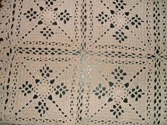 Ravelry: bluefrog62's Victorian Lattice afghan