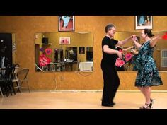 Rumba Social Dance, Back Spot Turn Lesson.