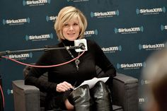 Debby Boone Photos Photos - Singer Debby Boone speaks onstage during SiriusXM's Town Hall with Pat Boone at Capitol Records Tower on November 22, 2016 in Los Angeles, California. - SiriusXM's Town Hall With Pat Boone