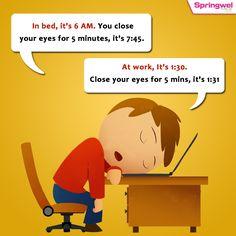 Sleeping In Bed Vs Office