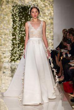 f2030ebf73 Reem Acra Fall 2015 Bridal Collection - The Wedding Notebook magazine. Wedding  Dress ...
