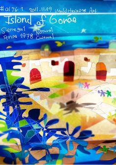 #0176-1 #ゴレ島 #セネガル共和国 #Island of #Gorée_ #Senegal_ SN_ #Africa_ Cultural_ (vi)_ N14 40 1.992 W17 24 2.988_1978_ Ref:26