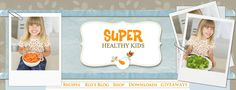 """""""Super Healthy Kids"""" recipes recipes-to-try Healthy Breakfast For Kids, Super Healthy Kids, Healthy Lunches For Kids, Breakfast Recipes, Breakfast Ideas, Healthy Cooking, Healthy Recipes, Fun Recipes, Healthy Eating"""