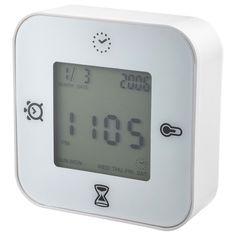 KLOCKIS Reloj/termómetro/despertador/tempor - IKEA