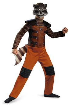 Disguise Marvel Guardians of The Galaxy Rocket Raccoon Classic Boys Costume, Large/10-12 * Continue to the product at the image link.