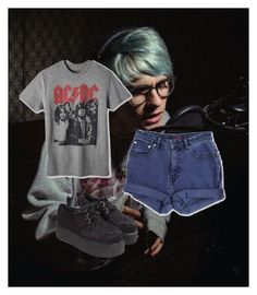"""Awsten Knight"" by strangemusiclover ❤ liked on Polyvore featuring Jag"
