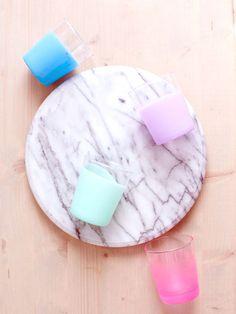 Dip-Dyed Drinkware