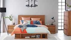 Harvey Norman Hudson Bed  Storage Australian Made