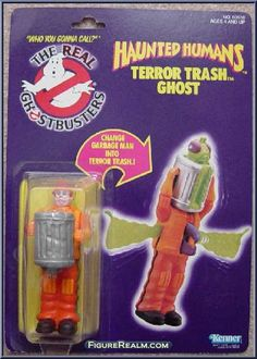 Kenner The Real Ghostbusters Series 3: Haunted Humans - Terror Trash Ghost 1986