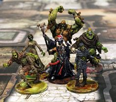 Zombicide: Black Plague | Necromancer & Spawn