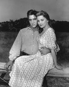 Elvis Presley and Debra Paget in Love Me Tender