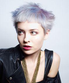 Hair by Valentina Urioni, Colur by Jenny Mozzi
