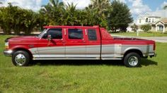 1996 Ford by Centurion Vehicles Inc. F350 Dually, Dually Trucks, Ford Pickup Trucks, Ford Diesel, Diesel Trucks, Pick Up, Ford Obs, Powerstroke Diesel, Cool Trucks