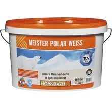 Wandfarbe Meister Polarweiss 10 L Wandfarbe Obi Farben