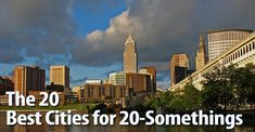 Cleveland named one of the Top 20 Cities for 20-somethings by Greatist!