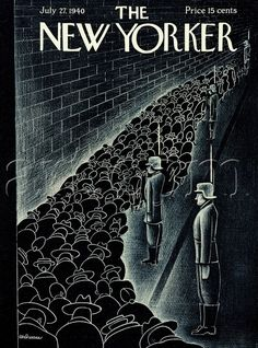 Christina Malman, Cover for The New Yorker, July 1940