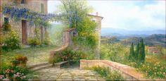 """Tuscan Landscape"" di Antonietta Varallo"
