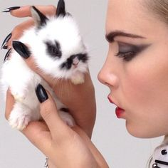 CARTIER WITH BUNNY