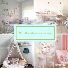 10x Mooiste meisjeskamer inspiratie: Mintgroen, zachtroze, pastelkleuren, prinsessenkamer, DIY, ik laat je de mooiste vondsten van kinderkamer voor meisjes zien. Roze, grijs, sterren, tipi.