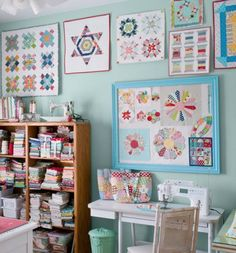 New Sewing Room & Table | Art Studios, Creative Spaces, Craft and ...