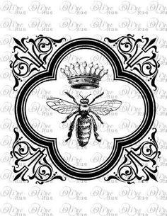 bee + crown