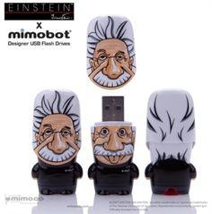 Einstein Mimobot #Tip #TipOrSkip #TopTips #einstein #mimobot #usb #computer #accessories #designer