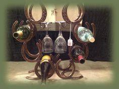 The Shoeless Horse: Horseshoe forged Metal Art & Western Decor