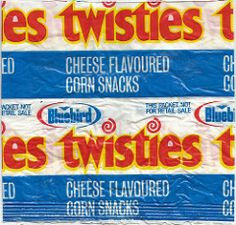 Late Bluebird Twisties Snacks Packet - New Zealand Corn Snacks, Blue Bird, Pop Tarts, 1980s, New Zealand, Larger, Snack Recipes, Packaging, Bag