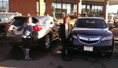Like Mother, like daughter... Jessica and her mom both bought a new RDX with the help of Todd Connell! Our family is proud to be apart of theirs. #courtesyacuraipadcontest #Acura #RDX #family #daughter #mother #courtesyacura #littleton #colorado