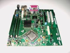 Dell Optiplex GX620 Motherboard CPU Memory Combo 0F8098 P4 3GHz SL7PU 2GB DDR2