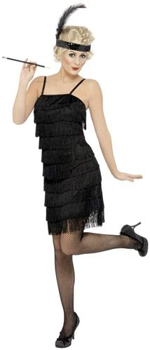 20's Fringe Flapper Dress  $29.99