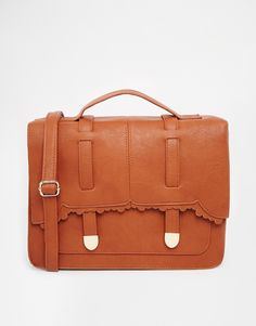 Image 1 of ASOS Large Scallop Satchel