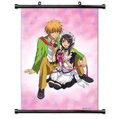 Kaichou wa Maid-sama Anime Fabric Wall Scroll Poster (16 x 23) Inches