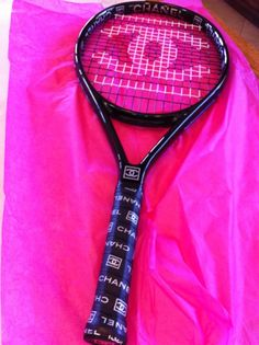 I would learn tennis just to have this racket!