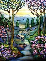 Tiffany Stained Glass window. Tiffany would make a good art app subject.