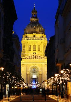 St. Stephen's Basilica in Budapest in Hungary between Christmas and New Year's Eve.      |    25 Impressive photos of Christmas celebrations around the World. #17 Is Awesome!