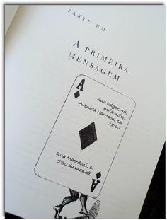 """Detalhe do livro: """"Eu sou o Mensageiro"""""""